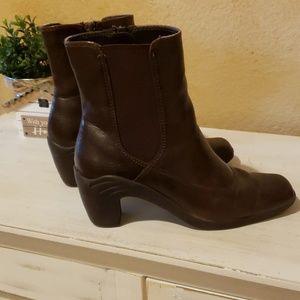 Brown booties!